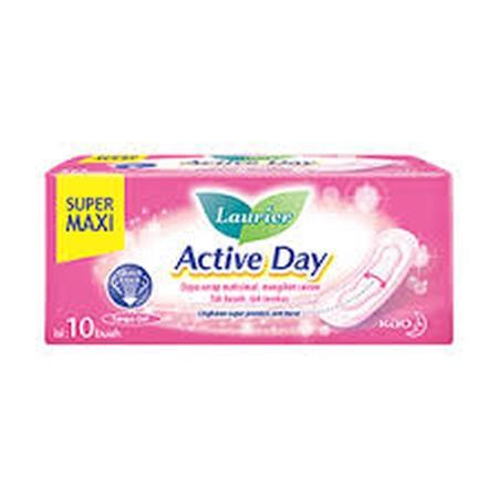 Pembalut Siang Dengan Tebal Ideal, Quicklock System Tanpa Gel-Nya Menyerap Cairan Menstruasi Lebih Cepat Dan Mengikatnya Di Dalam Sehingga Mencegah Bocor.