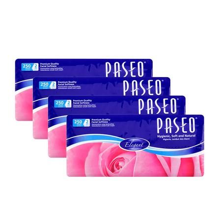 Paseo Elegant Facial Soft Multi Pack [250'S/2 Pcs] Merupakan Tissue Berbahan 100% Serta Alami Yang Memiliki Kekuatan Dan Daya Serap Yang Tinggi. Tissue Ini Lembut Sehingga Ideal Utnuk Digunakan Keluarga Anda.