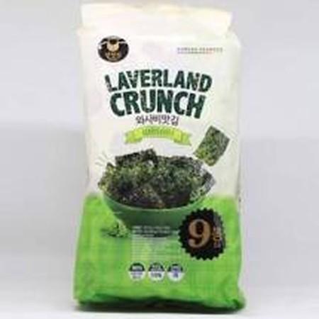Halal (Bentuk lembaran) Untuk cemilan atau snack, enak dihidangkan dengan nasi putih, bubur, atau mie. Di produksi oleh Manjun Seaweed - Rasa Sea salt ( asin )  Dikemas rapi secara higienis  Kelebihan Manjun Seaweed:   Diproses dengan cara dipanggang buka