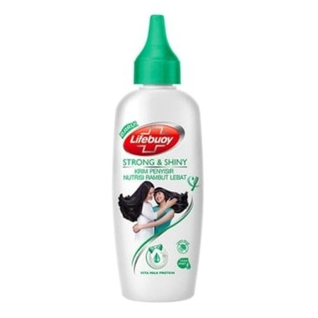Lifebuoy Shampoo Strong & Shiny Leave On - krim penyisir dan nutrisi rambut