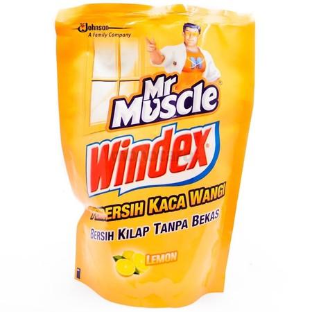 Windex Lemon Pembersih Kaca [425 Ml/ Pouch] Merupakan Cairan Pembersih Kaca Yang Mampu Mengangkat Kotoran Yang Menempel Pada Kaca Secara Menyeluruh Dan Juga Mencegah Terjadinya Bercak Pada Kaca.