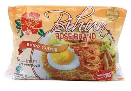 Rose Brand Bihun Goreng Spesial 55 Gr Merupakan Bihun Instan Dengan Rasa Asam Pedas Yang Terbuat Dari Tepung Jagung Berkualitas Serta Diproduksi Secara Higienis Sehingga Menghasilkan Bihun Yang Lezat Dan Aman Dikonsumsi. Bihun Ini Mengandung Karbohidrat D