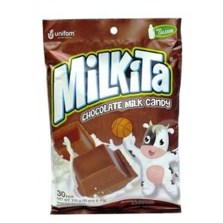 Milkita Permen Lollipop merupakan permen dengan ekstrak buah-buahan asli yang memiliki kandungan nutrisi baik dari susu murni sehingga cocok untuk Anda yang ingin menikmati permen dengan cara yang berbeda. Permen ini memiliki rasa susu strawberry, cokelat