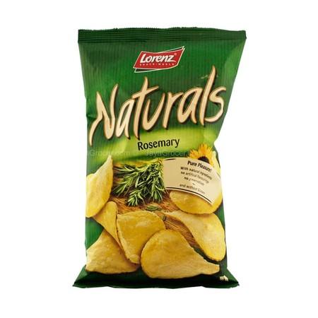Lorenz Naturals with Rosemary 100gr merupakan kripik kentang yang tidak mengandung pengawet, warna atau aroma buatan dan bebas gluten menciptakan kesenangan murni dan rasa yang lezat, kesenangan yang bisa dicicipi setiap saat.