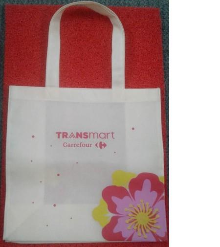 Shopping bag reusable bag Motif tropical/flower