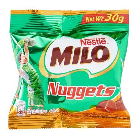 Milo Actigen-E Nuggets 30Gr Milo Actigen-E Nuggets 30GrMerupakan Olahan Cokelat Milo Yang Diformulasi Unik Dalam Bentuk Nugget Cokelat Yang Lezat Untuk Mendukung Aktivitas Harian Anak Dengan Sensasi Yang Berbeda. Mengandung Actigen-E, Serta Diperkaya V
