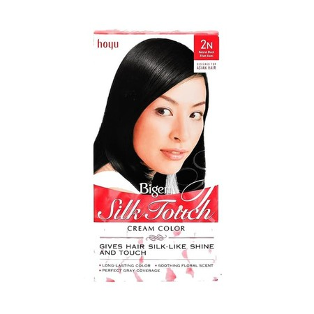 Terinspirasi Oleh Kecantikan Wanita Asia, Bigen Silk Touch Di Ciptakan Untuk Lebih Menonjolkan Kecantikan Wanita Asia. Kandungannya Dilengkapi Dengan Silk Protein Dan Ekstrak Ginseng Membantu Menjadikan Rambut Halus Seperti Sutera Dan Berkilau Indah.