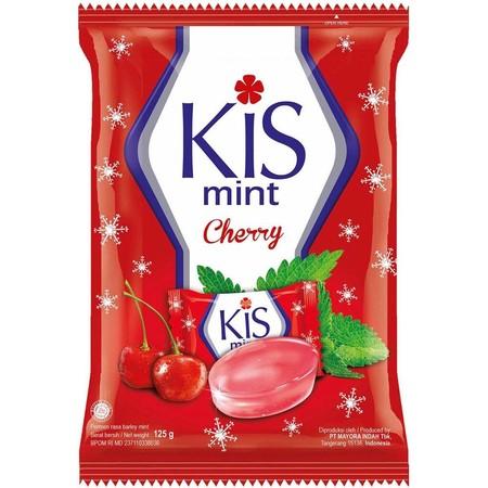 KIS Candy Mint Cherry 125g merupakan permen mint bercampur dengan rasa buah cherry yang nikmat dan menyegarkan. Permen KIS memiliki tekstur yang bening seperti kristal. Selain memiliki rasanya yang nikmat, permen KIS dapat menyegarkan nafas pada mulut ser