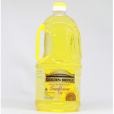 Golden Bridge Sunflower Oil Merupakan Minyak Yang Mengandung Vitamin E Dan Rendah Lemak Jenuh.
