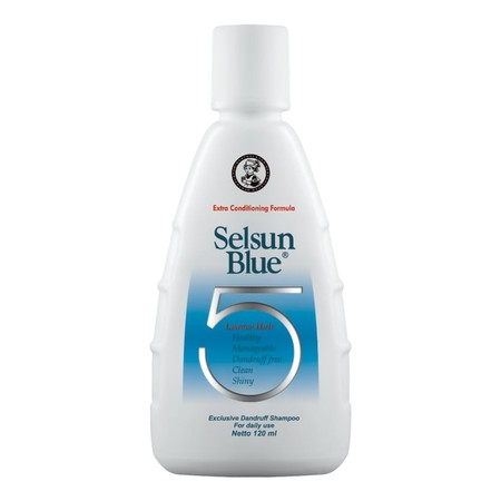 Selsun Blue Five Shampoo 120Ml Btl