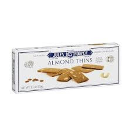 Brand biskuit No.1 Belgia dan termasuk dalam salah satu daftar belanja kerajaan Belgia. Biskuit dengan potongan kacang almond. Komposisi : Wheat flour, candy sugar, butter (17%), almonds(10%), salt. Dikemas dalam bentuk box. Diimport dari Belgium.