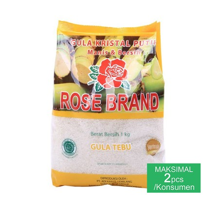 Details - Crystal Sugar - Made From Selected Original Sugar Cane - Hygienically Processed Using Modern Technology - Can Be Used To Sweeten A Variety Of Drinks Until It Is Mixed In Your Cookie Mixture  Rose Brand Gula Kristal Is A White Crystal Sugar Made