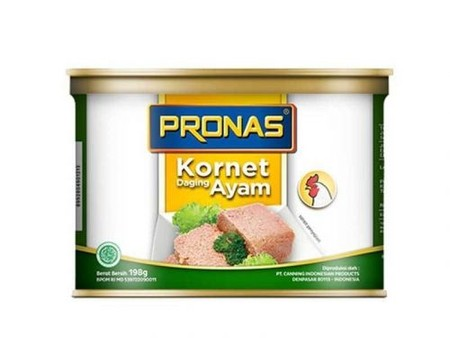 Present As Innovative Products, Pronas Corned Chicken Is The First In Indonesia. This Product Give Alternative For Food Lovers When Commonly Corned Beef Is The Most Well Known And Now They Can Also Enjoy Our Corned Chicken. Made From Selected Chicken, Giv