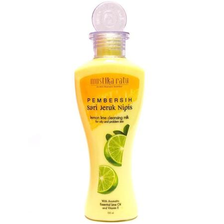Pembersih wajah yang dapat memberihkan kulit, memiliki kandungan vitamin E dan aromatic oil.