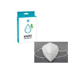 Lindungi diri dengan KN95 PROTECTIVE MASK 5PCS/PACK, aktif menangkal radikal bebas di udara efektif 95% dengan pori yang lebih kecil  Material: non-woven,metalblown Colour: White  5 Pcs/ Pack