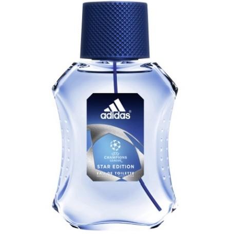 Adidas Champions League Edition Eau De Toilette Parfum Pria 100 Ml, Parfum Ini Merefleksikan Antusiasme, Jiwa Kompetitif, Stamina, Strategi Dan Kekuatan Dengan Mengkombinasikan Lemon, Lavender Aromatik, Dan Violet Pada Bagian Top. Clary Sage, Kasmiran Dan