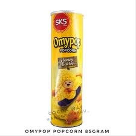 popcorn jagung dalam toples varian rasa honey butter