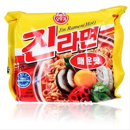 Ottogi Jin Ramen Hot Mie Instan 65 Gr Merupakan Mie Instant Dalam Mangkuk Asal Korea Yang Memiliki Tekstur Lembut & Kenyal. Diproses Secara Higienis, Sehingga Ideal Di Nikmati Bersama Keluarga.