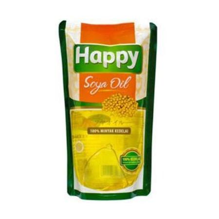 HAPPY SOYA Oil merupakan minyak goreng yang terbuat dari 100% minyak kedelai murni yang begitu kaya akan vitamin E, antioksidan, omega 3 dan omega 6. Berperan mencegah terjadinya kerusakan sel akibat serangan radikal bebas, juga aktif mencegah berkembangn