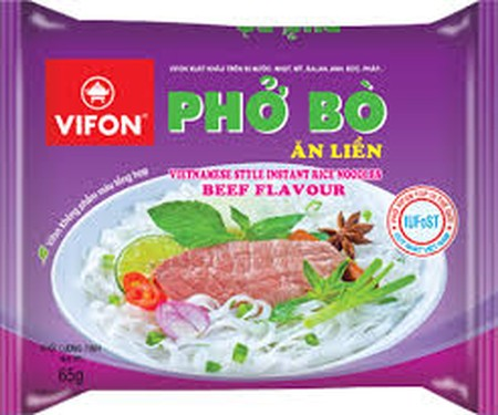 Instant Noodles With Beef Flavour