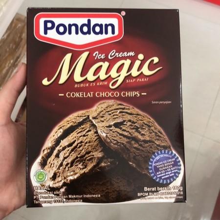 Bahan Premiks Untuk Membuat Ice Mix Chocolate
