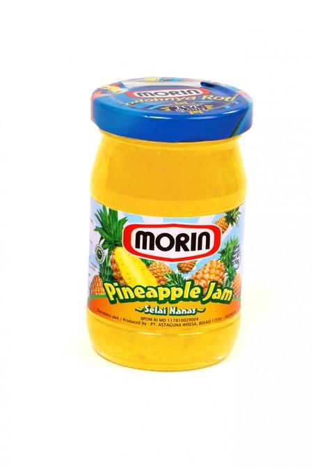 Fitur Produk Morin Pineapple Jam Selai Nanas 170 Gram Merupakan Selai Yang Terbuat Dari Buah Terbaik Yang Ditanam Di Perkebunan Berkualitas Tinggi. Cocok Di Makan Bersama Roti, Oatmeal Atau Ice Cream.