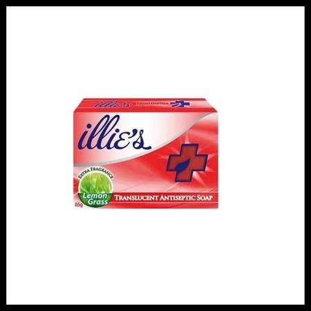 Illies Antieptic Soap merupakan sabun batang mandi anti bakteri.