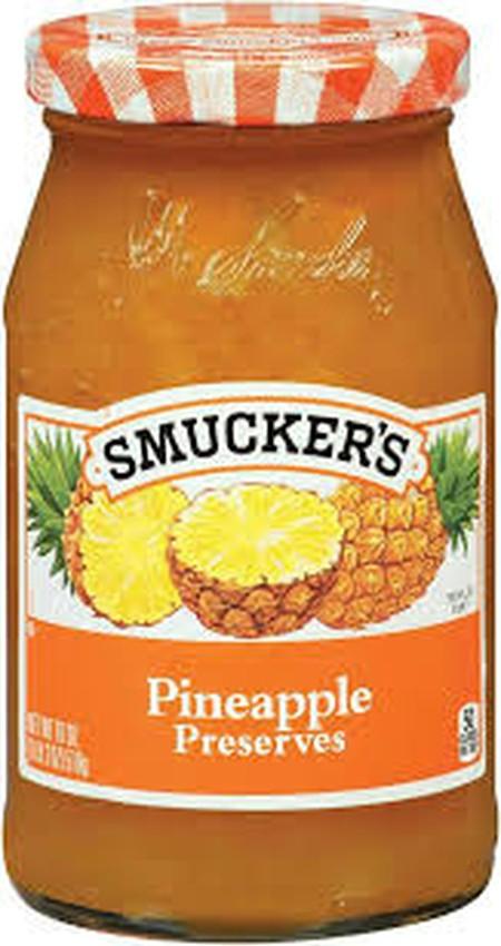 Smuckers Pineapple Preserve Selai [340 G] Merupakan Selai Dengan Rasa Nanas Yang Lezat. Dibuat Dari Nanas Kualitas Terbaik Yang Menghadirkan Rasa Yang Kaya Dan Segar.