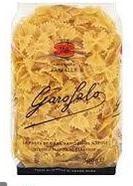 Garofalo Pasta Fettucine terbuat dari Gandum Durum Semolina berkualitas, bahan mentah yang berkualitas dipilih dengan hati-hati untuk menghasilkan produk yang berkualitas dan sempurna dalam proses masak sehingga menghasilkan masakan dengan citarasa yang l