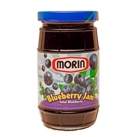 Morin Blueberry Jam 330 Gr Merupakan Selai Blueberry Yang Sangat Lezat. Cocok Dan Enak Untuk Roti Maupun Kue. Selain Itu Selai Ini Juga Cocok Untuk Dioleskan Sebagai Pendamping Makanan Ringan Seperti Roti Bakar Dan Biskuit. Selai Morin Menggunakan Bahan-B