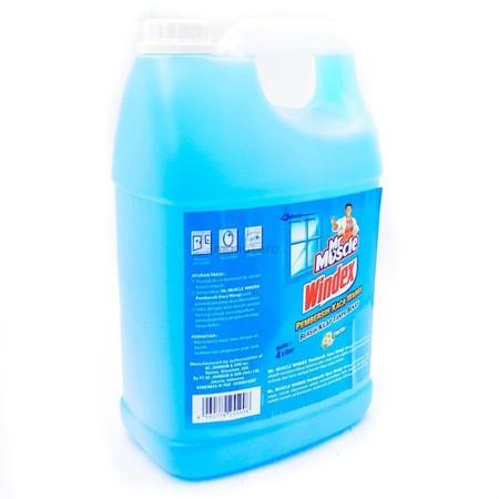 Windex Fresh Pembersih Kaca [4000 Ml/ Gallon], Pembersih Kaca Dengan Formula Ganda Dan Keharuman Yang Fres. Cocok Juga Untuk Membersihkan Seluruh Perabotan Rumah Tangga. Kaca Bersih Mengkilap Dalam Sekejap.