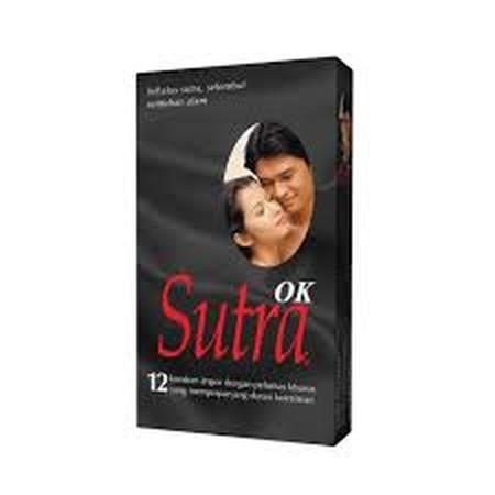 Sutra merupakan alat kontrasepsi dalam bentuk kondom yang terbuat dari bahan dasar lateks (getah karet) dengan lapisan bahan sangat tipis dengan cairan pelumas khusus yang berfungsi untuk mencegah kehamilan dan penularan penyakit seksual.