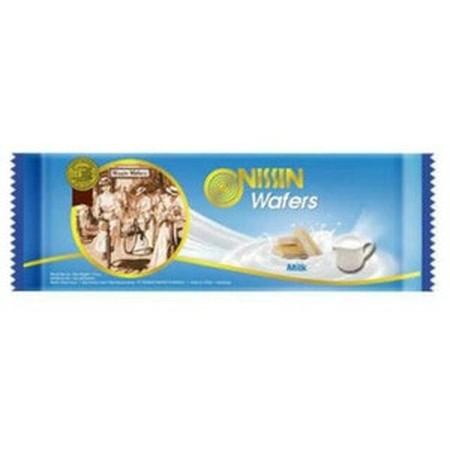 wafer yang memiliki tekstur renyah dengan rasa susu yang nikmat, sehingga ideal dijadikan cemilan saat santai Anda bersama keluarga.