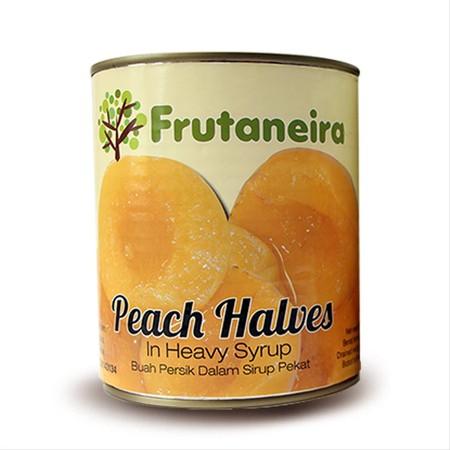Buah persik kualitas terbaik dengan larutan sirup segar yang dikemas dalam kaleng bermutu tinggi, aman dikonsumsi, mudah dibuka dan sangat praktis. Cocok dinikmati saat bersantai bersama keluarga. Diimport dari Yunani.
