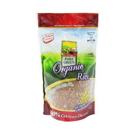 Pure Green Organic Rice adalah beras 100% Organik bebas kimia dan pestisida yang sangat sehat dikonsumsi oleh seluruh anggota keluarga. Keunggulan PUREGREEN Organic Rice : 1. Lebih sehat 2. Rasa lebih gurih 3. Lebih tahan basi 4. Kaya mineral dan vitamin