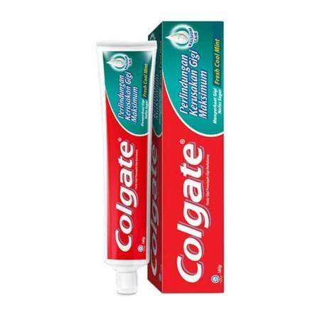 Pasta gigi keluarga yang berfungsi untuk meningkatkan kekuatan gigi dan juga memberikan nafas segar sepanjang hari, terbukti dapat memperbaiki titik lemah pada gigi. Mengandung Liquid Calcium dan Flouride yang berguna untuk mencegah gigi berlubang dan mem