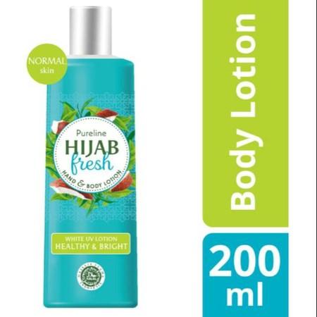 Baru, Hijab Fresh Halal Body Lotion, Pertama Diciptakan Khusus Untuk Muslimah Indonesia.  Dengan Instant Cooling Burst Yang Melepaskan Kesegaran Dan Sensasi Dingin Sepanjang Hari.  Dilengkapi Whitening Pro-Nutrient, Vitamin B3 Dan E Yang Mencerahkan Dan M