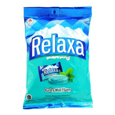 Relaxa Barley Mint Bag Permen merupakan permen dengan rasa barley yang wangi dengan sensasi dingin dan segar dimulut. Permen ini cocok dinikmati saat sedang bersantai dengan keluarga atau teman Anda.