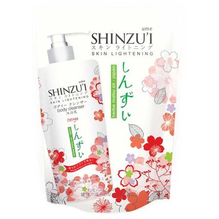 Shinzui Body Cleanser Iseiya Refill 450Ml Adalah Sabun Cair Yang Dapat Membersihkan Dan Mencerahkan Kulit Secara Alami Dan Lebih Efektif. Sabun Cair Dari Jepang Ini Diperkaya Dengan Herba Matsu Oil, Bahan Pemutih Yang Mencerahkan Kulit Dengan Membentuk Le