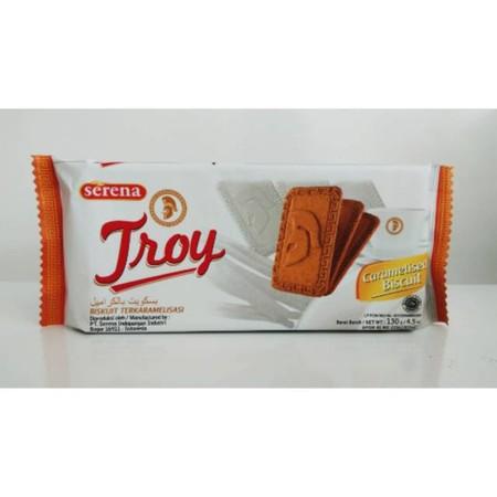 biskuit terkaramelisasi untuk cemilan pagi dan sore anda.