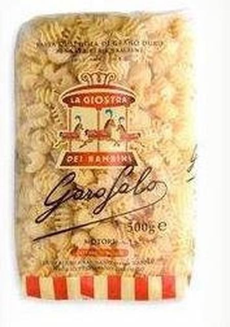 Garofalo Pasta Motori, short pasta berkualitas yang terbuat dari gandum durum semolina yang terinspirasi dari bentuk mesin, cocok untuk mnjadi pelengkap pada soup atau hidangan pasta, menarik bagi anak-anak dengan rasa yang nikmat.