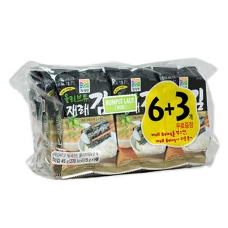 Daesang Roasted Laver Adalah Rumput Laut (Nori ) Yang Dapat Dimakan Sebagai Snack Atau Dicampur Dengan Makanan Lain.