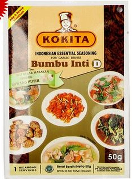 Kokita Is Committed To Providing The Specialized Ingredients And Essential Sauces Required To Enjoy The Authentic Flavors Of The Finest Indonesian Cuisine.  Kokita Essential Seasoning D (Bumbu Inti D Kokita) For Stir-Fried Dishes Is An Essential Seasoning