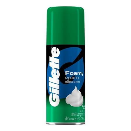 Gillette Shaving Foam Menthol 175G. Halo Customers, Berikut Ini Sedikit Penjelasan Produk Yang Akan Anda Beli. Gillette Foamy Menthol Kaya Akan Krim Busa Yang Tebal Untuk Kenyamanan Bercukur Dengan Wangi Menthol. Menyebar Dengan Mudah. Setelah Dibilas Den