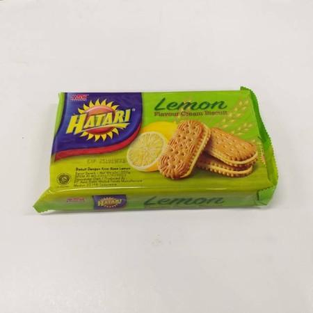 Hatari Rose Lemon Cream Merupakan Cemilan Biskuit Dengan Varian Rasa Krim Yang Nikmat.