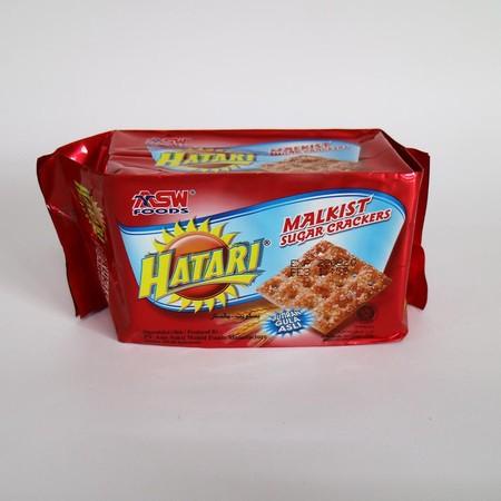 Malkist Sugar Crackers Dengan Taburan Gula