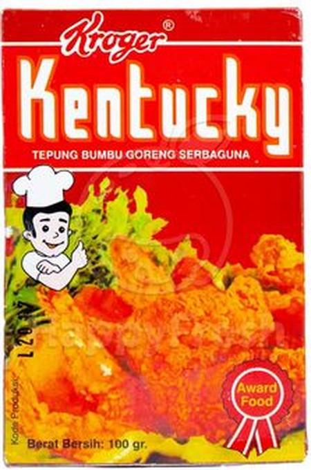 Kentucky Seasoning Powder, tepung bumbu goreng serbaguna, tanpa bahan pengawet.