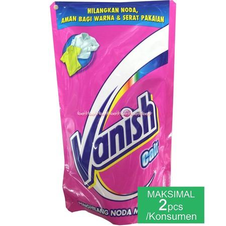 Vanish Cair Menghilangkan Noda Membandel Yang Aman Bagi Warna Dan Serat Pakaian.