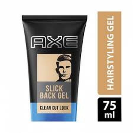 Axe Hairstyling Slick Back Shine Gel Berwarna Transparan Memberikan Tampilan Rambut Yang Berkilau Dengan Konsistensi Lebih Tipis Dibandingkan Produk-Produk Lainnya