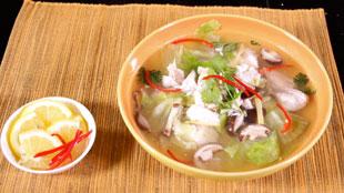 Sup Kakap Lettuce